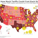 Visualizing Trade War Tariffs - Which States Could Suffer the Most?